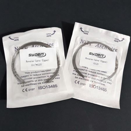 Picture for category NITI ARCHWIRE REVERSE CURVED (10 PCS PACK)