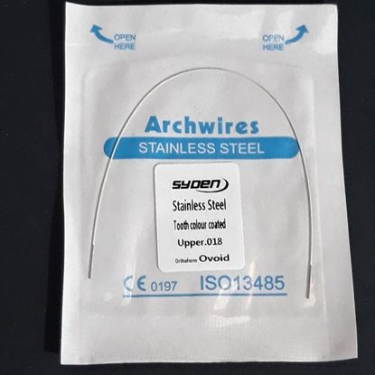 SS WIRE TOOTH COLOUR(ROUND)