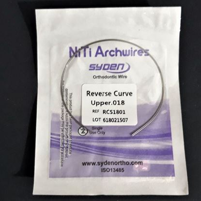 NITI ARCHWIRE REVERSE CURVED (ROUND)