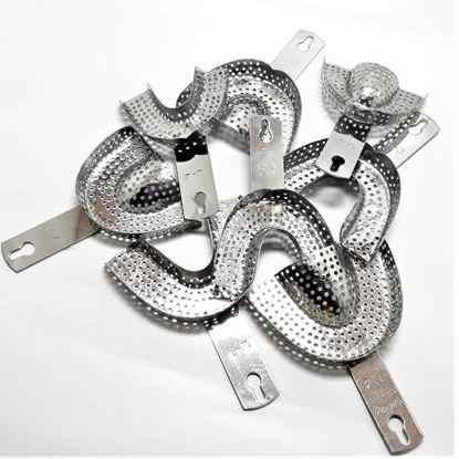 PERFORATED IMPRESSION TRAY   SS